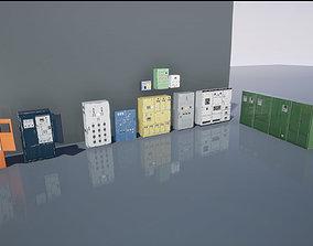 3D model Industrial Control Panel
