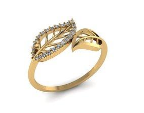 jewelry 3D print model FLOWERING RINGS