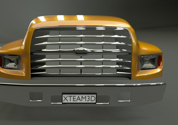 Ford B800 Bonnet 3D model