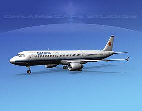Airbus A321 Eurocypria 3D