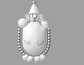 3D printable model Venkateswara balaji bhagwan