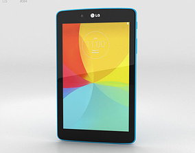 3D model LG G Pad 7-0 Luminous Blue