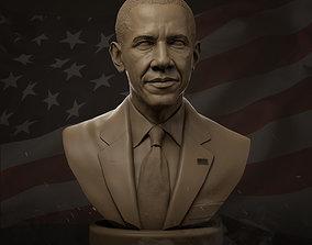3D print model Barack Obama