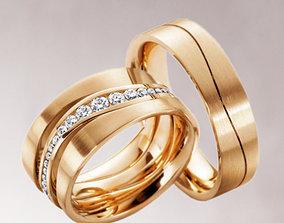 Wedding ring 224 3D print model