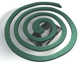 Mosquito Coil 3D