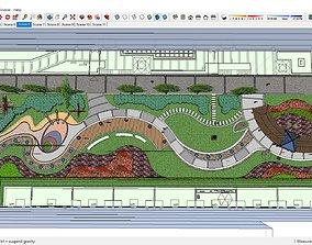 3D Sketchup 200 - landscape design
