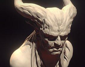 Dragon-age-qunari 3D print model