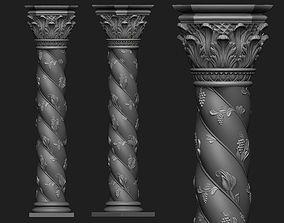 Ornamental Column 3D print model