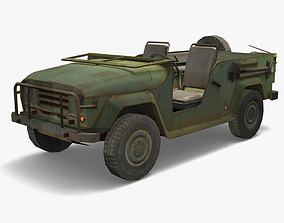 3D asset UAZ Lowpoly