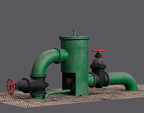 3D asset Industrial swivel filter