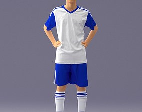 Soccer player 1114-2 3D Print Ready