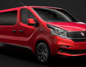 3D Fiat Talento Minibus LWB 2020