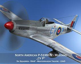 North American P-51K Mustang MK IV - RAAF 3D