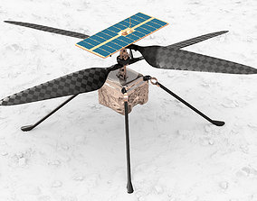3D rigged Ingenuity Mars Helicopter