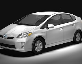 3D 2010 Toyota Prius