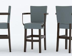 tavern 3D model Bar Chair