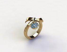 3D printable model Blue Ring