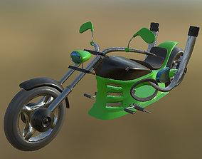 3D model Chopper 03 PBR