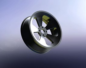 Car wheel 2 3D