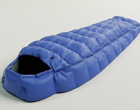 Sleeping bag 3D model PBR