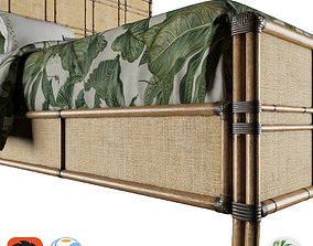 mattress 3D Tropical - Coco Bay Panel Bed