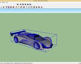 Mazda Furai 3D printable model