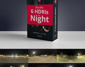 3D model HDRIs - Night Package