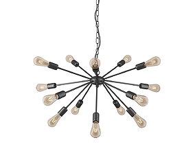 Nowodvorski ROD BLACK XV 9733 lamp 3D