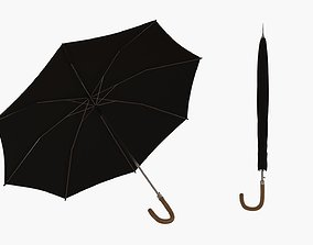 Elegant umbrella 3D model