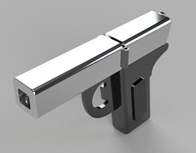3D Cork screw and Bottle opener Gun