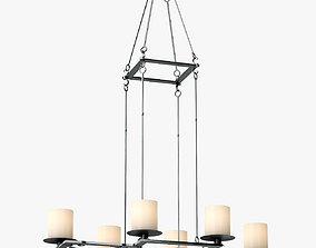 3D model Holly Hunt Bridle Hanging Light