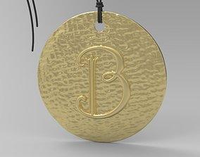 3D print model print Alphabet Latin B