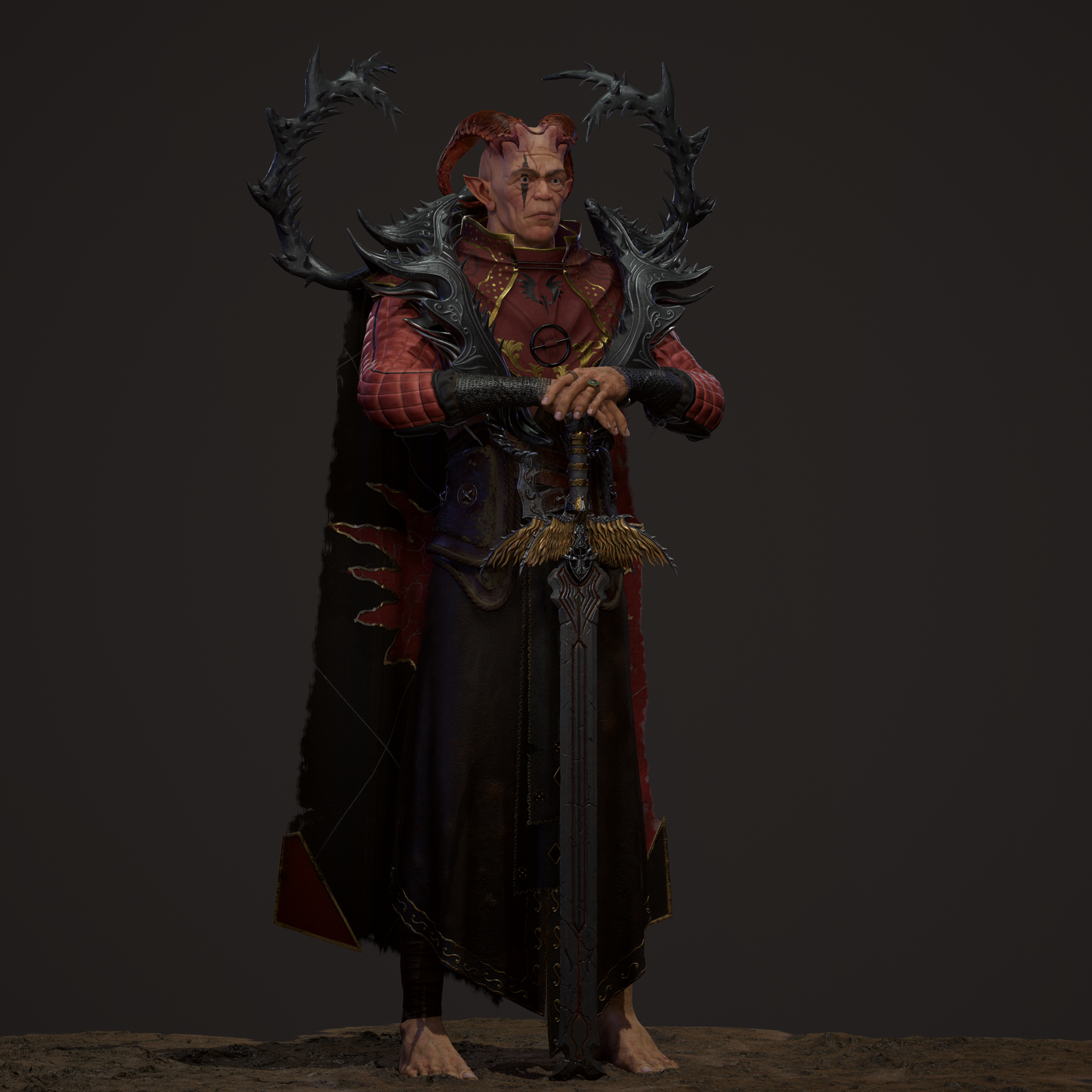 Zaknefein Real Time Character Design