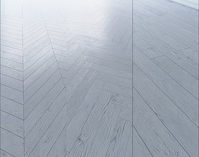 3D model Parquet Chevron herringbone linear