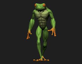 3D printable model Frogman
