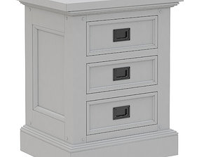 3D model Dantone Home Oxford nightstand