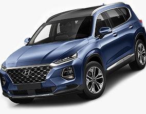 Hyundai Santa Fe 2019 3D