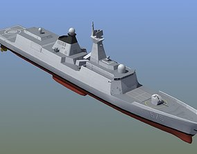 Type 054A Frigate 3D model