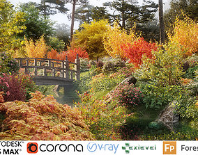 Japanese plants - Include GrowFX and Mesh file 3D model