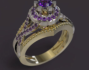 rings matrix 3D printable model Ring