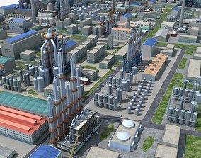 Chemical Plant 3D model platform