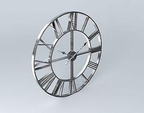 Factory Clock Maisons du monde 3D