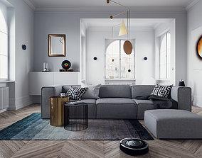 Home Equipment Interior Scene 3D model