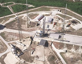 SpaceX Launch Pad Complex 3D