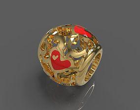 Heart pendants 3D print model