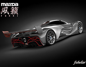 Mazda Furai standard mat 3D