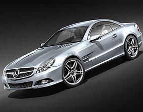 Mercedes Benz SL 2009 3D