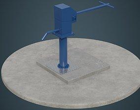 3D asset Hand Pump 3A