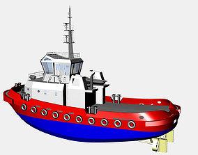 Agencies boat marina 3D model