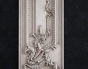 Door baroque 3D printable model